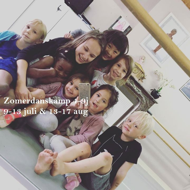 Zomerdanskamp kinderen