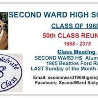 Second Ward Class of 1968  Meet and Greet