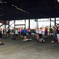 Yoga Social Club 2017 at Crescent Park