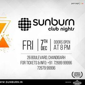Sunburn Club Nights with Siana Catherine - Chandigarh