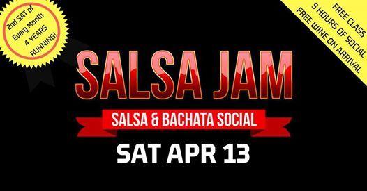 Salsa Jam Social - Apr Edition