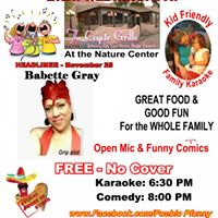 Comedy and Karaoke Chille at the Grille
