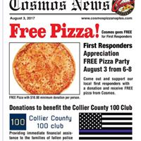 Naples First Responders Appreciation Pizza Party