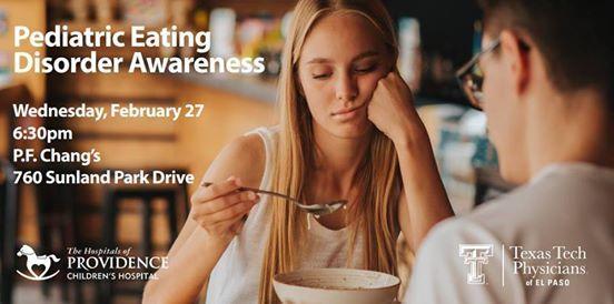 Pediatric Eating Disorder Awareness Seminar at P F  Chang's (760
