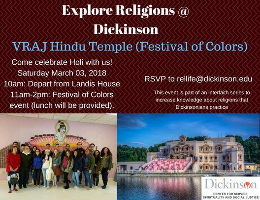 Explore Religions At Vraj Hindu Temple Carlisle