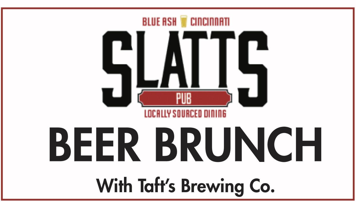 Beer Brunch at Slatts Pub