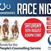 Race Night at the Three Horseshoes