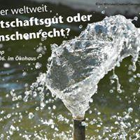 Wasser - Wirtschaftsgut oder Menschenrecht
