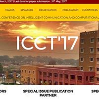 Int. con. Intelligent Communication and Computational Techniques