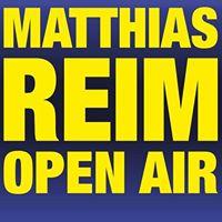 Matthias Reim - Open Air 2018 I Steinbach-Langenbach