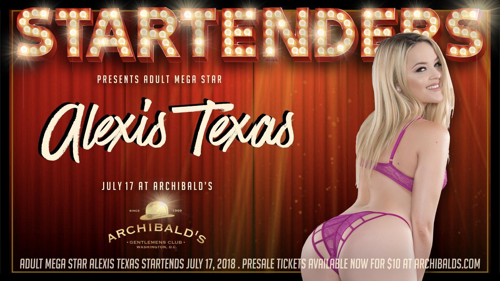 Startenders Alexis Texas At Archibalds Gentlemens Club Washington