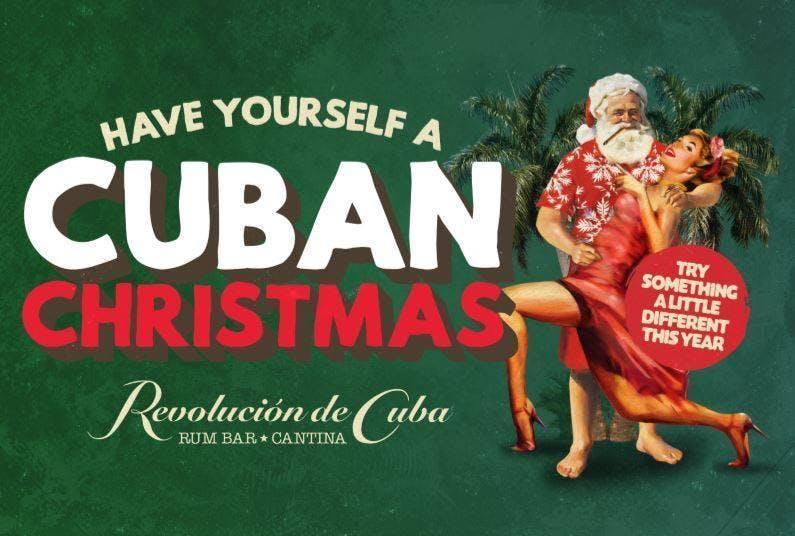 Christmas showcase for Corporate at Revolucion De Cuba Cardiff