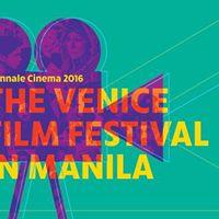 The Venice Film Festival in Manila
