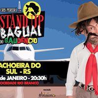 Stand Up Bagual do Gaudncio em Cachoeira do Sul - RS