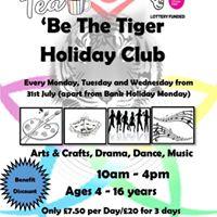 Climb 4 - Be The Tiger Expressive Arts Holiday Club