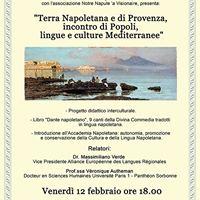 &quotTerra Napoletana e di Provenza incontro di Popoli lingue e culture Mediterranee&quot