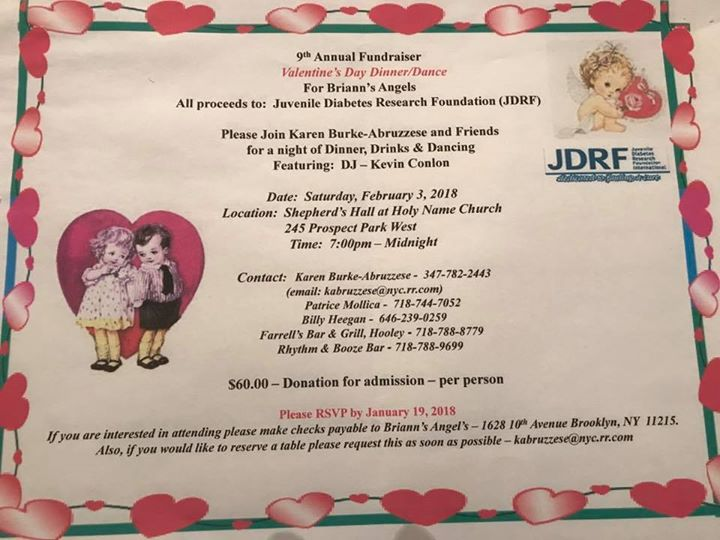 9th Annual Jdrf Valentines Day Dinner Dance At Holy Name Shepherd S