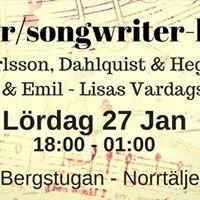 Singersongwriter-kvll p Restaurang Bergstugan