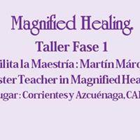 Taller Magnified Healing Fase 1 ( Maestra)