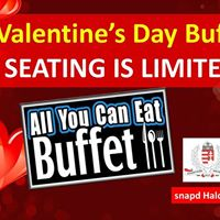 All You Can Eat Valentines Day Buffet