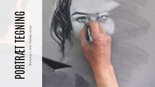 Portrt tegning