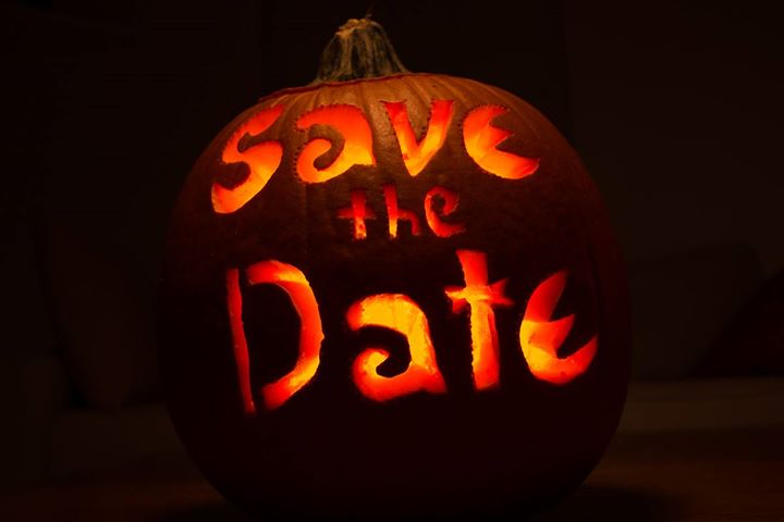 scare away cancer halloween party save the date