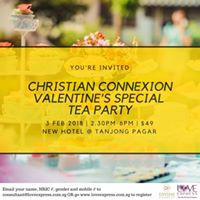 3 FEB CHRISTIAN CONNEXION VALENTINES SPECIAL SPEED DATING HI-T