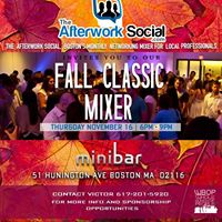 The Afterwork Social Monthly Mixer