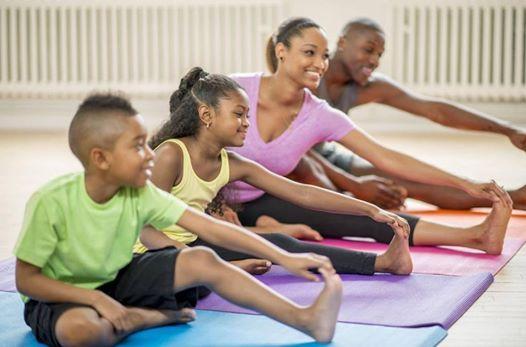 Family Yoga Workshop at Square One Yoga, San Leandro
