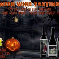 Halloween Party Wine Tasting &amp Wood Fired Pizzas