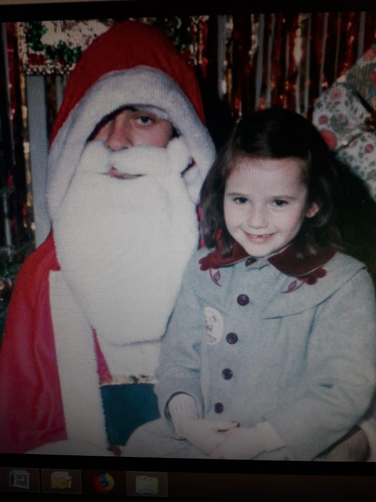 Retro Santa at the Makers Market Waterford