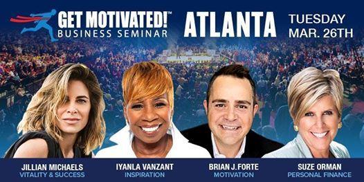 Suze Orman Iyanla Vanzant Jillian Michaels LIVE Atlanta
