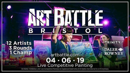 Art Battle Bristol - 4 June 2019