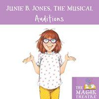 Junie B. Jones the Musical Auditions