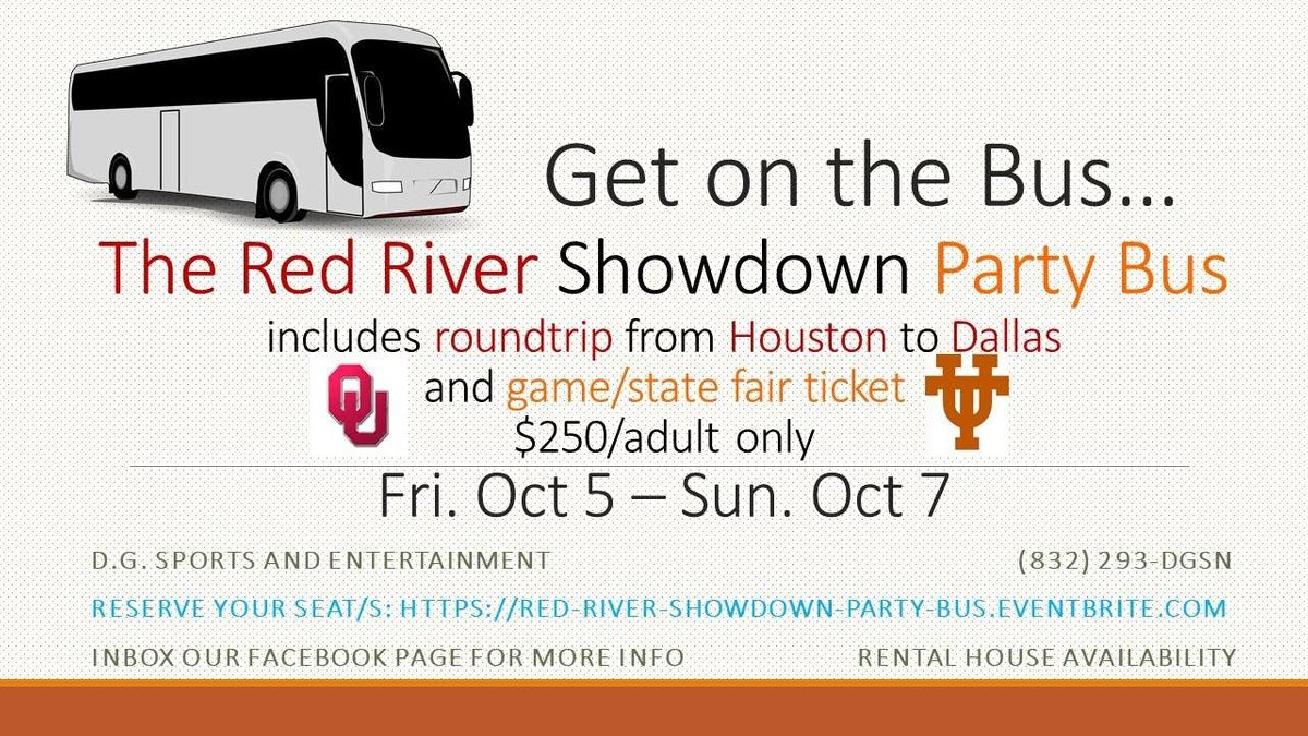 Red River Showdown (OUUT) Party Bus