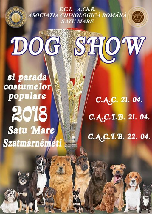 Dog Show si parada costumelor populare Satu Mare 2018