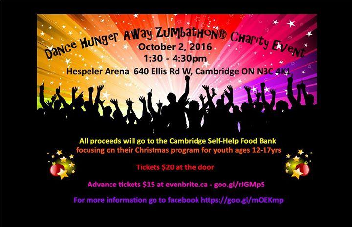 Dance Hunger Away Zumbathon Charity Event At Hespeler