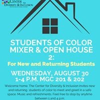 Students of Color Open House for New and Returning Students