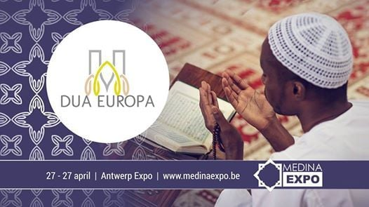 DUA Europa Medina Expo Antwerpen Anvers 27 28 April