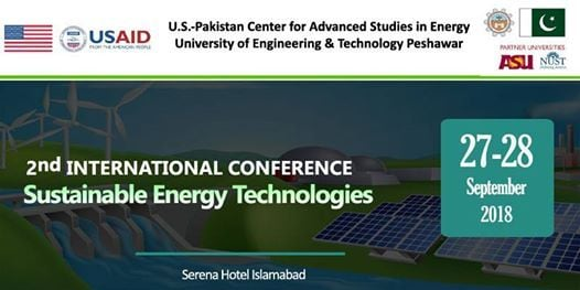 2nd International Conference on Sustainable Energy Technologies