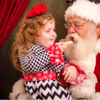 Storytime with Santa 2015 Artistic Images by The Mayfields
