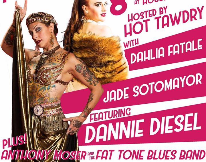 Foundation Cabaret April 5th With Special Guest Dannie Diesel
