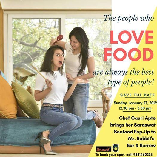 Saraswat Seafood Pop-Up By Chef Gauri Apte