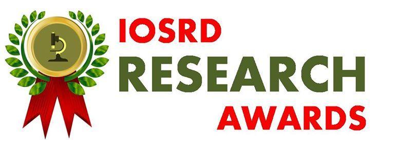 Iosrd- Research Awards on Atomic Molecular Physics and Optics