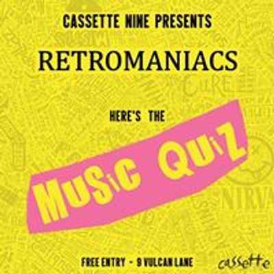 Retromaniacs Music Quiz