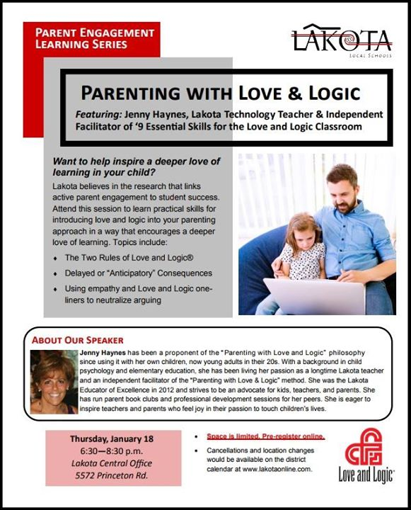 Brain Dead Parenting Love Logic First In New Parent Engagement Series Smore Parenting Love Logic First In New Parent Engagement Series At