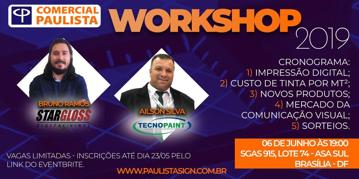 WORKSHOP COMERCIAL PAULISTA 2019