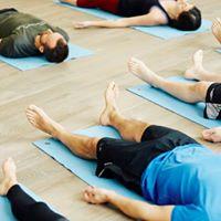 Yoga stops traffic with YW Teacher