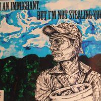 Exhibicin de arte sobre tema de inmigracin