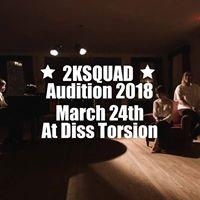2KSQUAD Auditions 2018